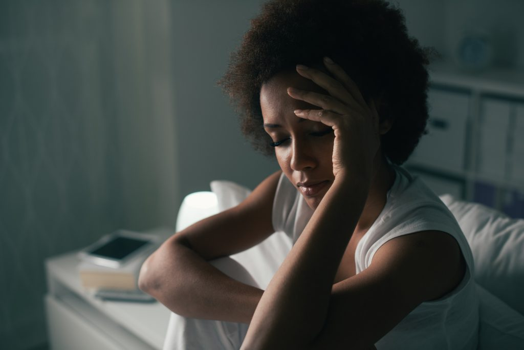 depression difficulty sleeping